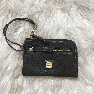 Dooney & Bourke Half Zip-Around Wallet